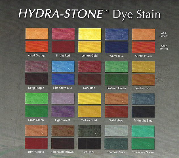 stained concrete floors colors. HydroStone  Dye Staining Stained Concrete Floors ChemStone Acid